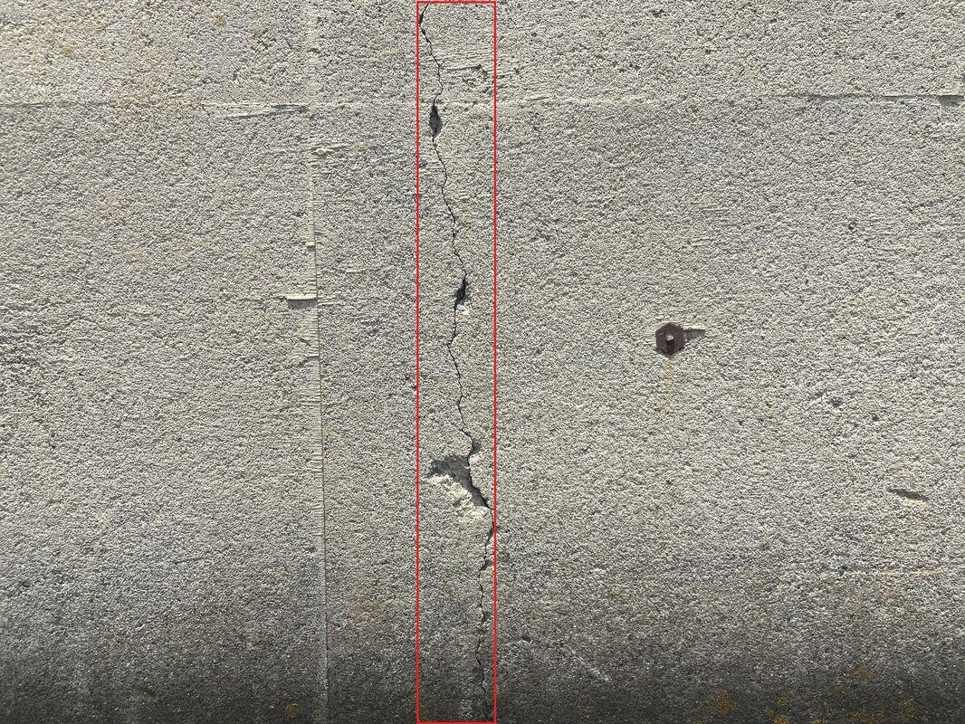 ひび割れ検出サンプル3