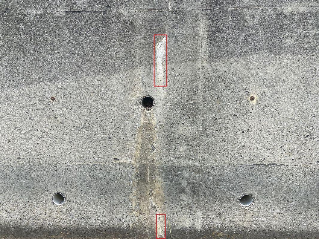 遊離石灰検出サンプル1
