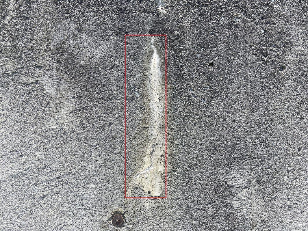 遊離石灰検出サンプル2